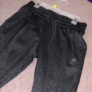 Small adidas joggers only worn once!